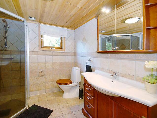 Bathroom on the main floor