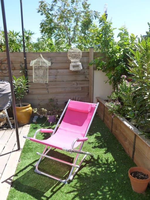 maisont3 en duplex 60m2 avec jardin houses for rent in montpellier languedoc roussillon france. Black Bedroom Furniture Sets. Home Design Ideas