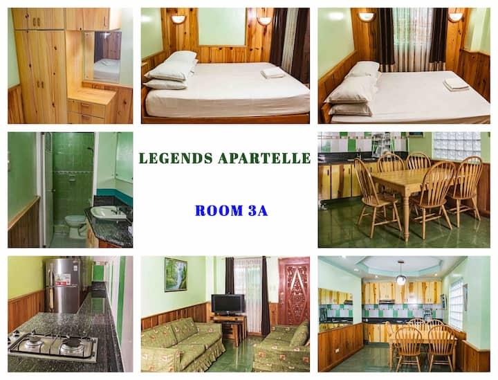 2-Bedroom Suite 3A, Legends Apartelle