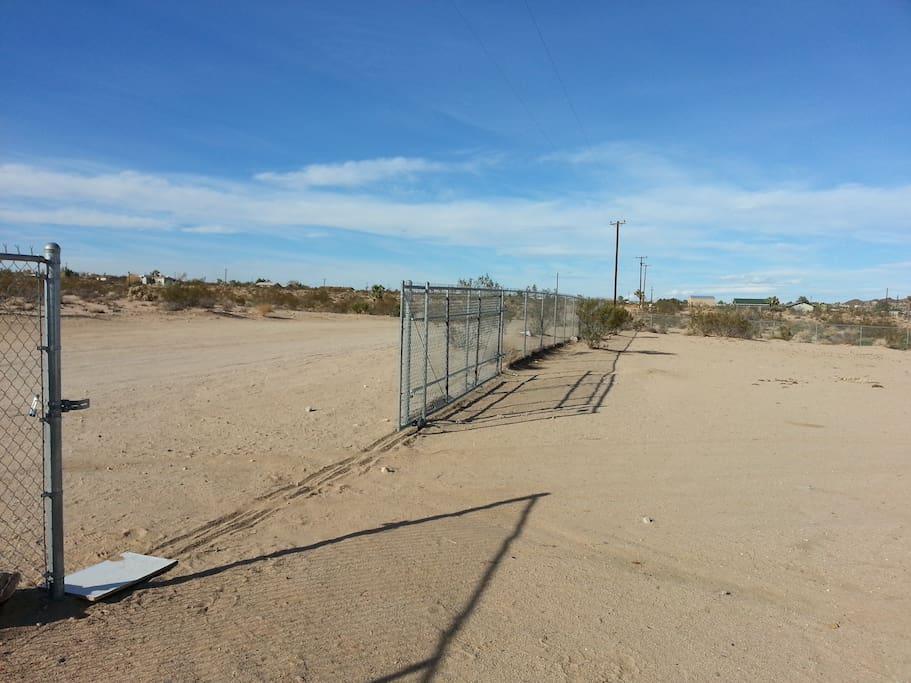 Fenced  5 acres