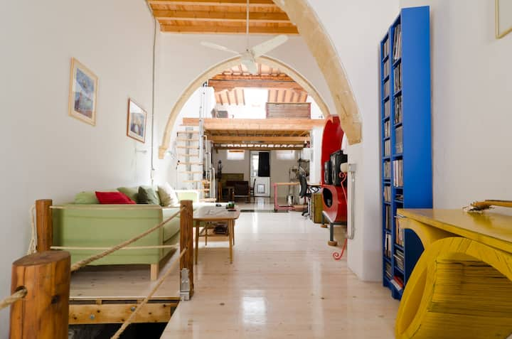 LONG TERM !! renovated house in old town Nicosia