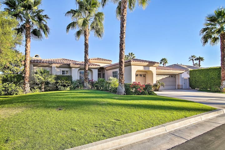 NEW! Indian Wells Home w/ Pool, Hot Tub & Fire Pit