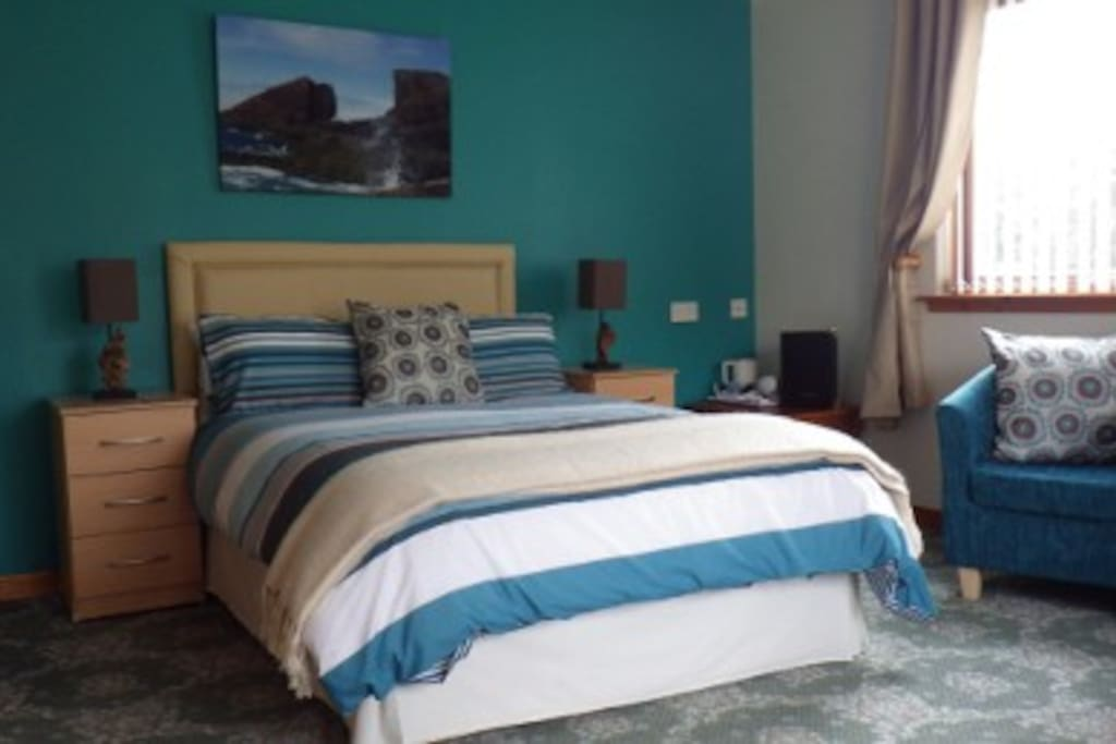 One of our rooms - visit www.davar-lochinver.co.uk to see all of our rooms