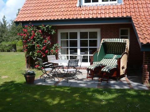 Komfortable Ferienwohnung nahe Südstrand Wyk/Föhr