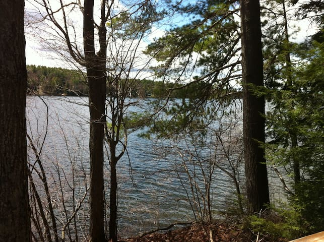 Retreat in Woods on Rust Pond - Wolfeboro - Dom