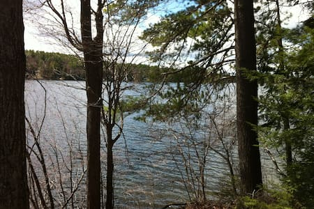 Retreat in Woods on Rust Pond - Wolfeboro - House