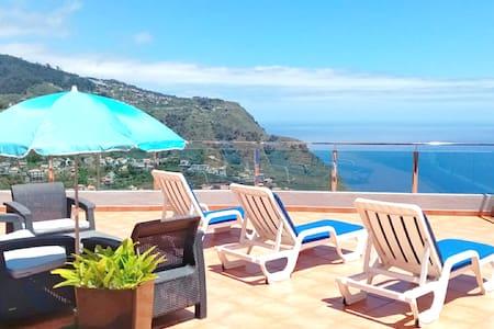Villa Oceane @ Ribeira Brava w/ WiFi  BBQ ♡