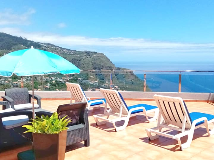 Villa Oceane BBQ Netflix WiFi Terraces Open Views