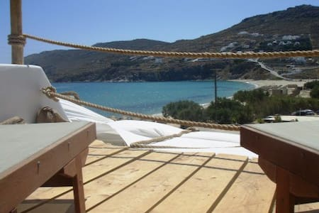 STUDIO FOR 2 WITH SEA VIEW TO BEACH - Mykonos