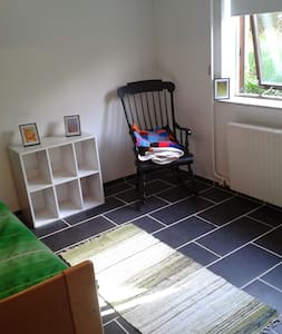 Private room with double bed in basement of villa - Copenhagen