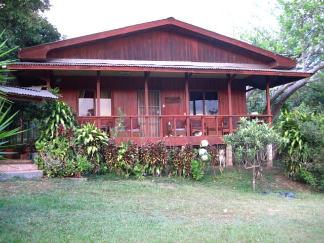 2BD Wood House on Organic Farm,View, Quiet, Secure