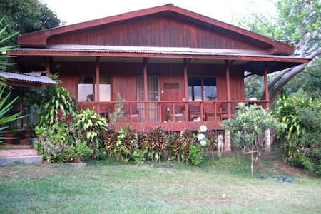 2BD Wood House on Organic Farm,View, Quiet, Secure - Santa Barbara - Rumah