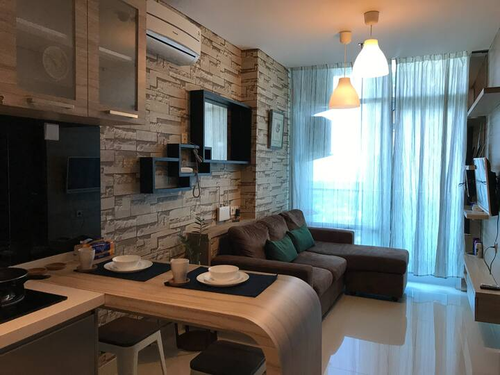 Brooklyn Apartment | Cozy 1 BR | Alam Sutera