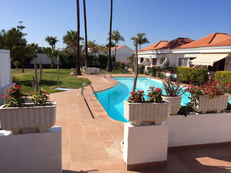 Bungalow en maspalomas gran canaria houses for rent in - Houses in gran canaria ...