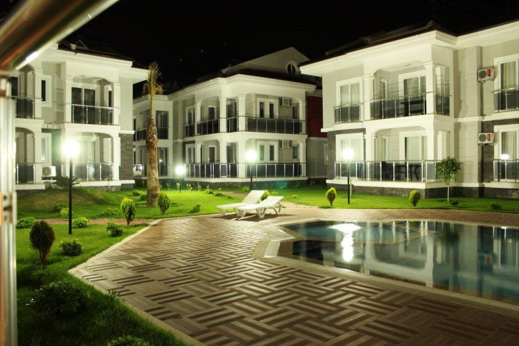 Another Night View of the Compound