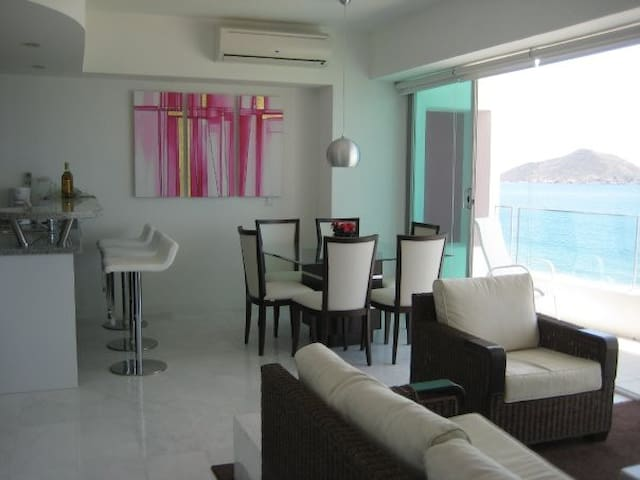 Beautiful Beachfront - Mazatlán - Appartement