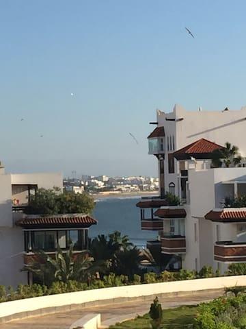 Superbe 3 pièces Marina plein soleil - Agadir - Apartment