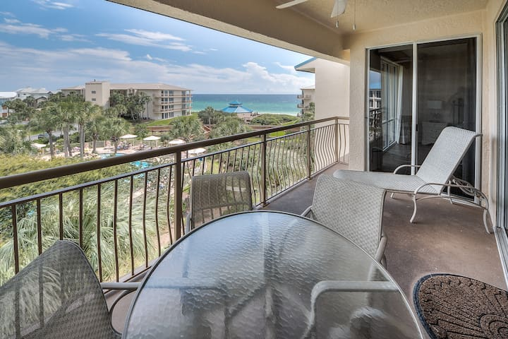 Poolside Rental with Beach Access! - Seacrest - Flat