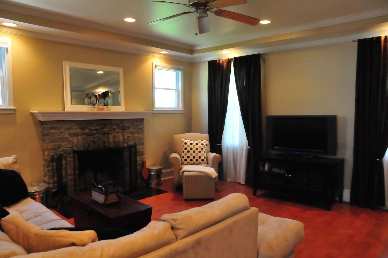 Large Living Room designed for comfort.