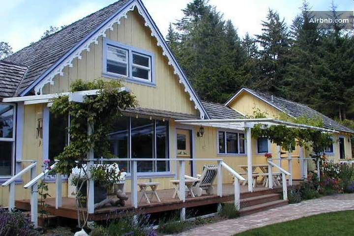 Garden room near ocean + 2 meals - Ferndale