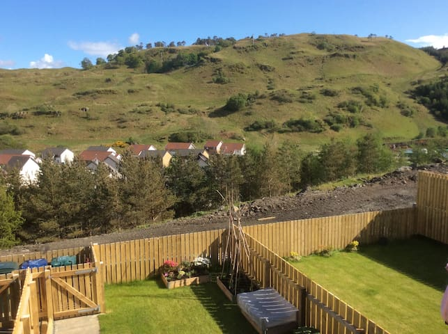 Light Double Room in Oban - Oban - Hus