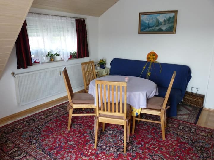Feriendomizil Sattler, (Fridingen), Feriendomizil Sattler, 70qm, 2 Schlafzimmer für 2-5 Personen