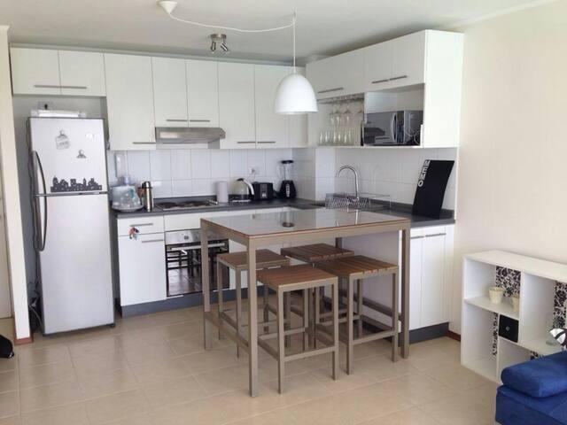 Papudo, Cond. con Laguna Artificial - Papudo - Apartamento