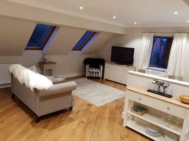 Luxury studio apartment at Heronbrook Farm