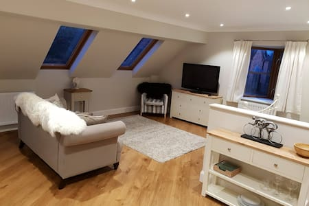 Luxury studio apartment at Heronbrook Farm