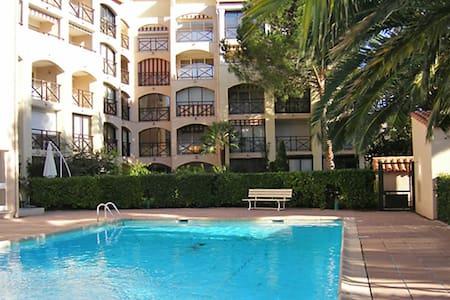 Ste Maxime centre ville, 2 pièces, piscine - Sainte-Maxime - Departamento