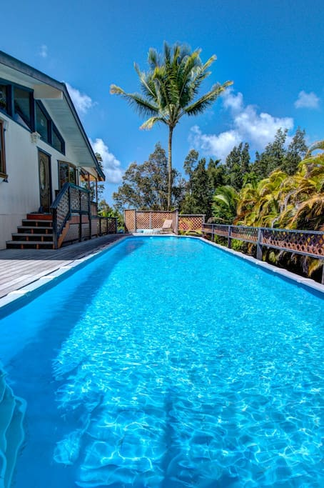 Beautiful 40 ft pool.