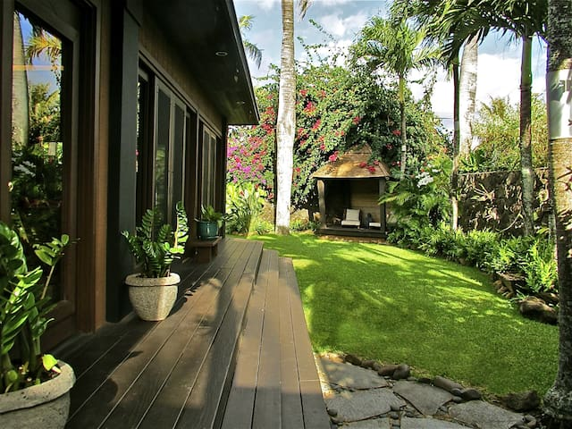 Sunset Beach/Backyards Garden Home - Haleiwa - Huis