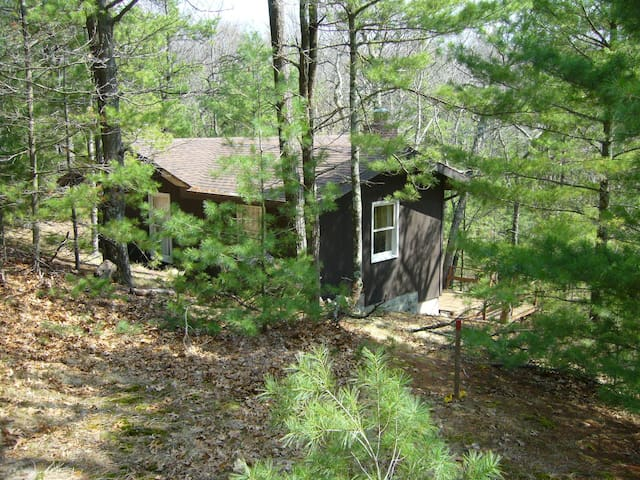 Cottage in the woods-Lake MI access - Pentwater - Cabaña