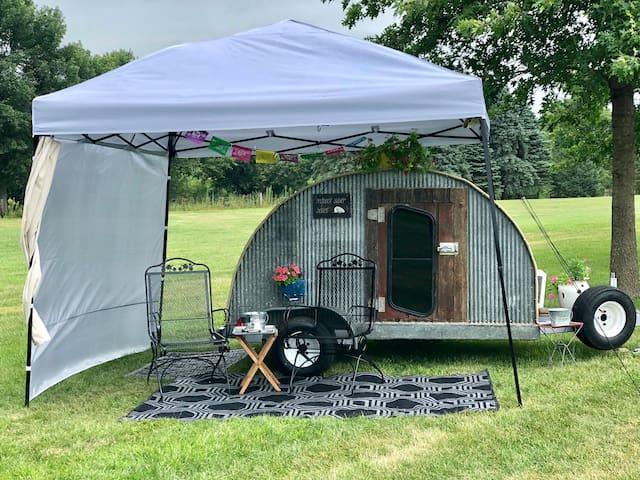 The Tin Teardrop Camper