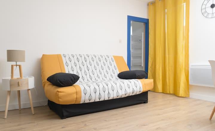 Studio cosy en centre-ville