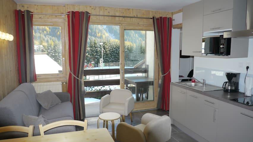 Studio Argentiere vue  Mont Blanc  - Chamonix-Mont-Blanc - Lakás