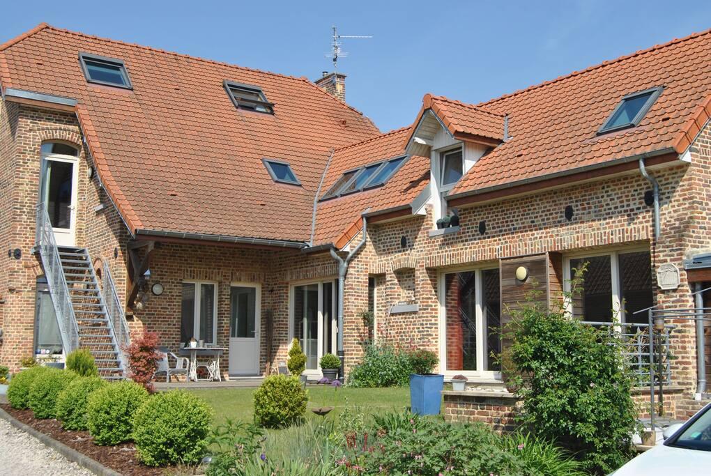 L'architecture de la demeure a été préservée.