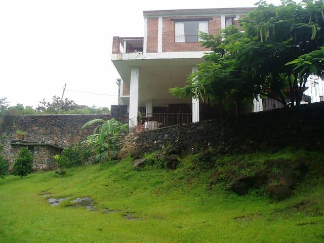 Vista norte de la terraza