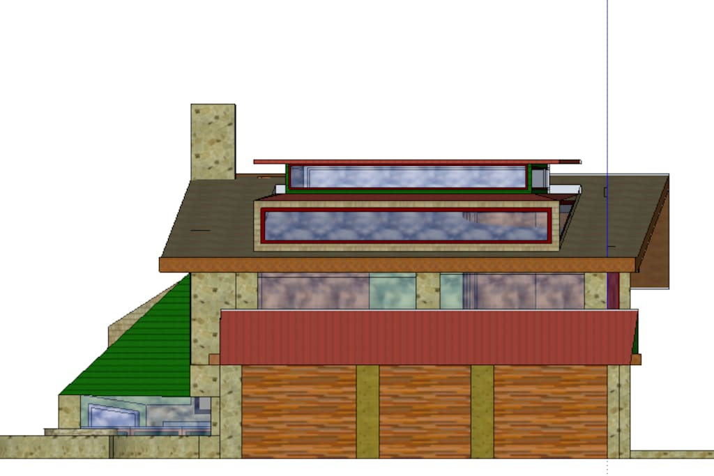 My design for a residence at Dog Creek Estate