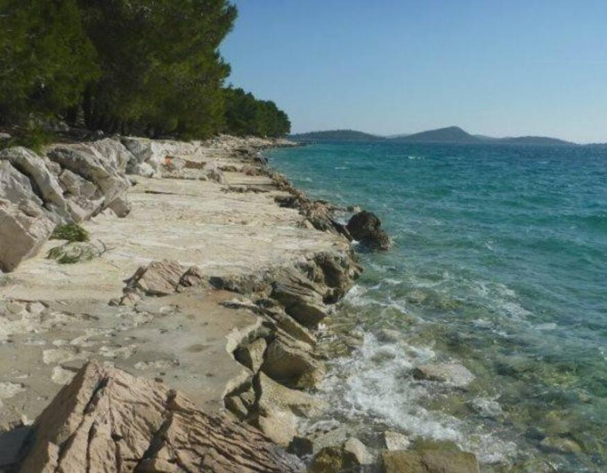 Drage beach