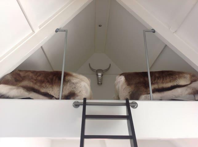 Loft with private bathroom near Rotterdam