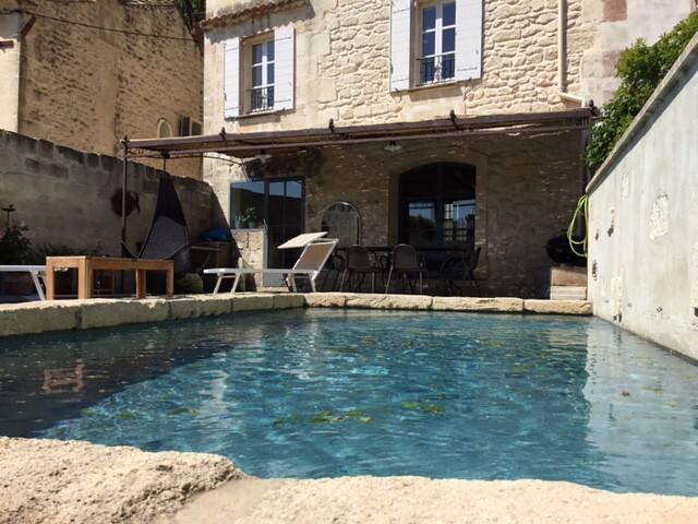 Maison de village sublime à 2min du centre - Maussane-les-Alpilles
