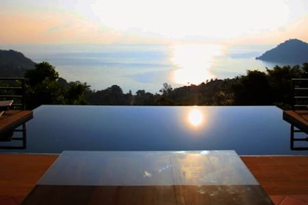 Luxury Villa w. Panoramic Sea View - Ko Pha-ngan