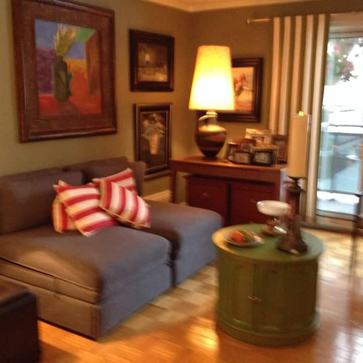 Cozy apartment in upper mid-town