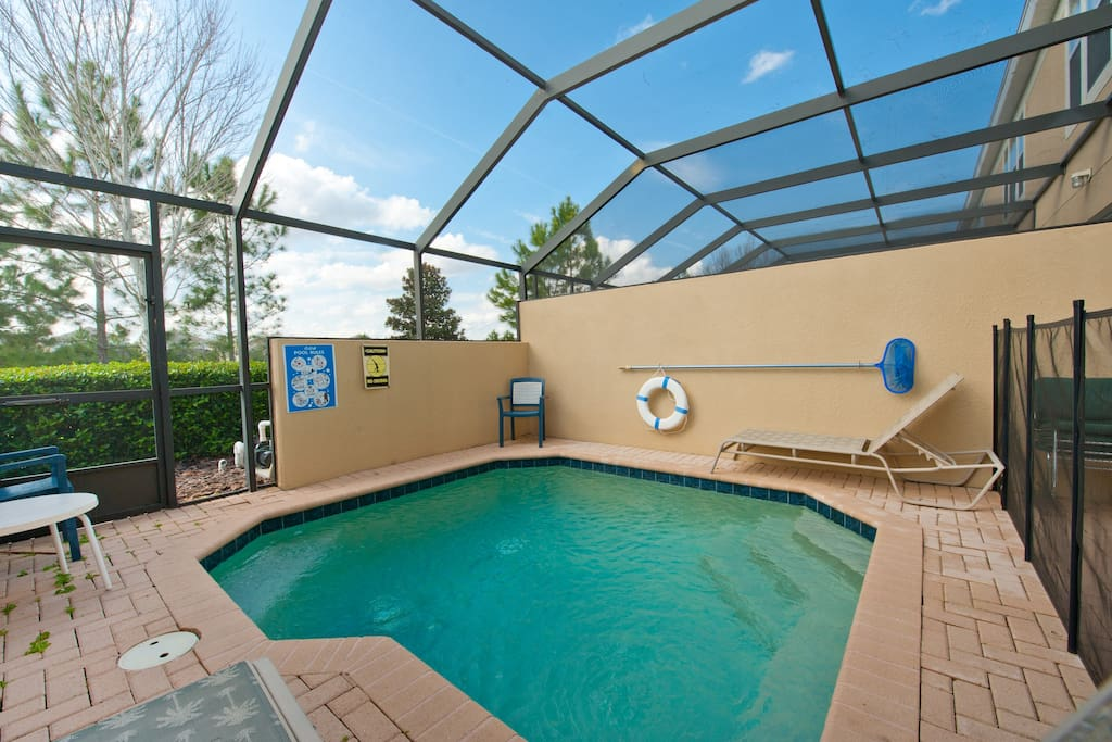 3 Bedroom Private Pool Home Wifi 75 Villas For Rent In Kissimmee Florida United States