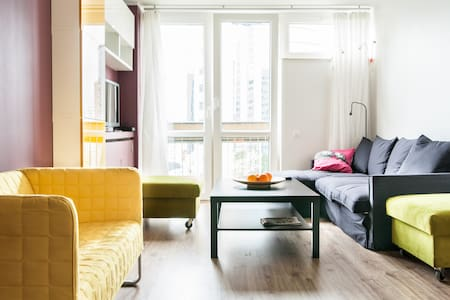 Heart of Warsaw at your feet.    - Varsovie - Appartement