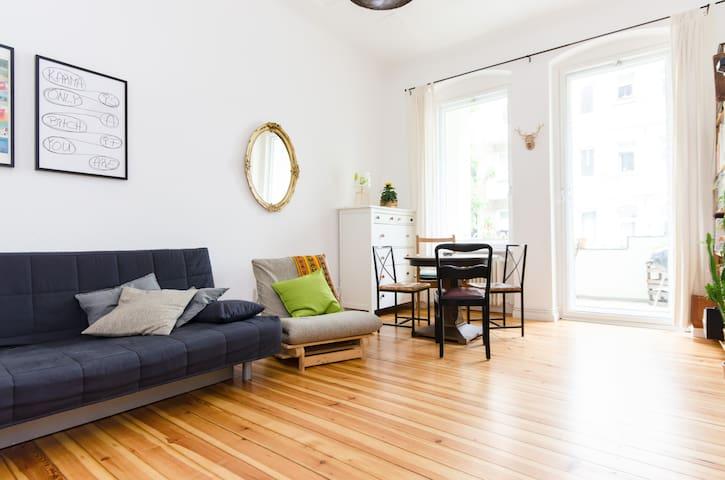 Balcony room in vibrant Neukölln