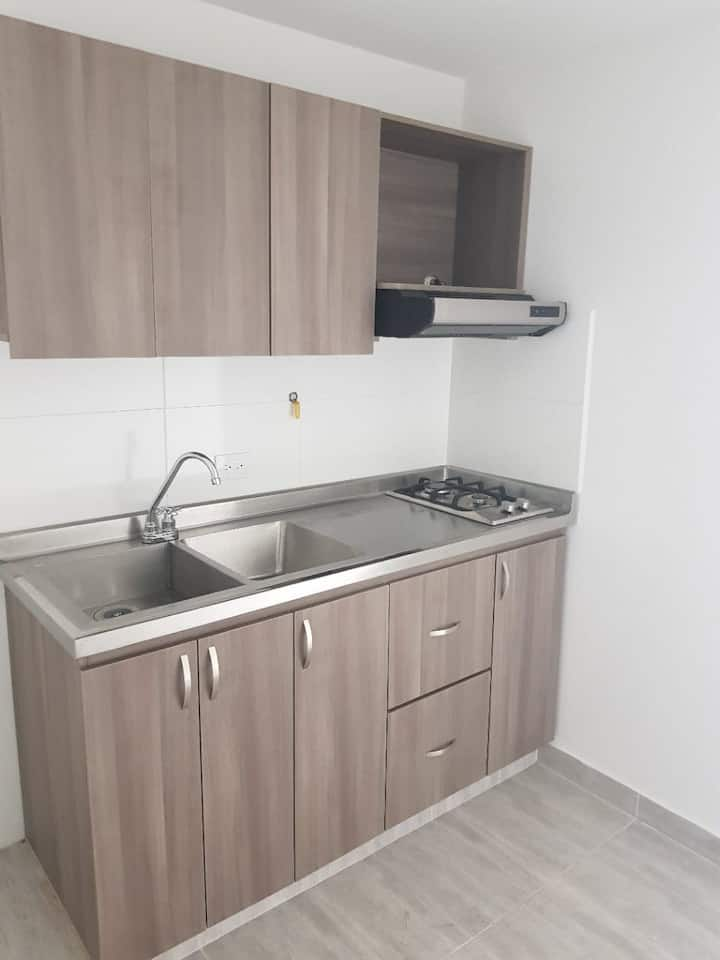 Apartamento Nuevo acogedor para una o dos personas