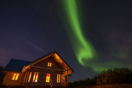 Exclusive villa in the SW / 45 min to Reykjavik. - Skorradalshreppur - Casa