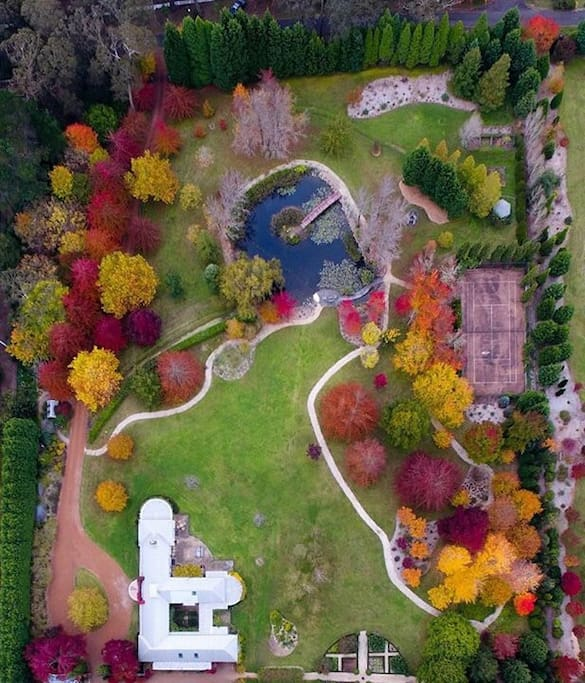 Aerial drone photography from Autumn 2017